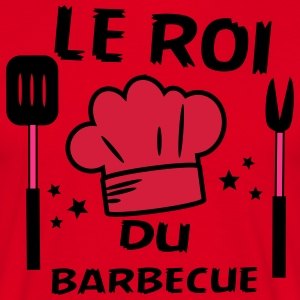 Le roi du barbecue - T-shirt Homme
