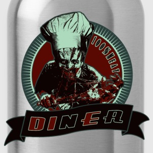 Navy Zombie T-Shirts - Water Bottle