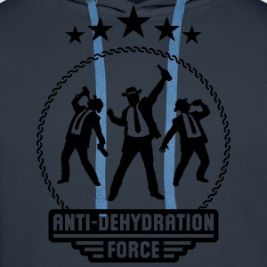 Anti-Dehydration Force (Bier Party Team) T-Shirts - Männer Premium Hoodie