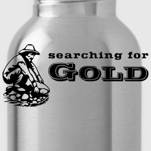 Goldschürfer / gold digger 3 Shirts - Water Bottle