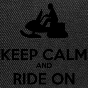 Keep Calm - Sled - Snapbackkeps