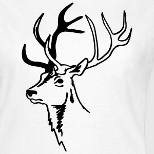 Hirsch T-Shirts - Frauen T-Shirt