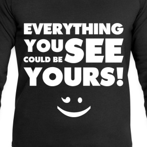 Everything You See(White) - Männer Sweatshirt von Stanley & Stella