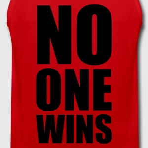 no one wins - Herre Premium tanktop