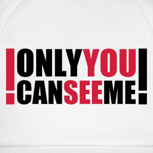 only you can see me - Cappello con visiera