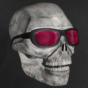 skull with sunglasses 3000 - Men's Sweatshirt by Stanley & Stella