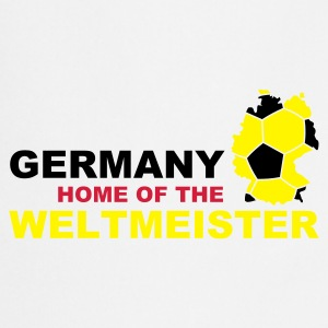 germany home of the weltmeister - Kochschürze