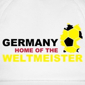 germany home of the weltmeister - Baseballkappe