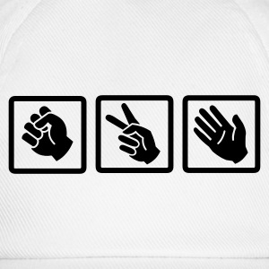 rock paper scissors v2 - Baseball Cap