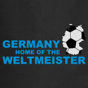 germany home of the weltmeister 2 - Kochschürze