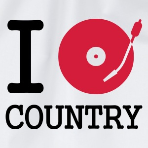 I dj / play / listen to country - Gymbag