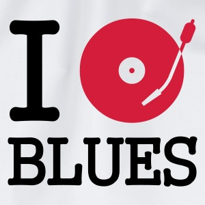 I dj / play / listen to blues - Gymbag