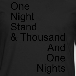 one night stand - T-shirt manches longues Premium Homme