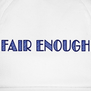 fair enough - Cappello con visiera