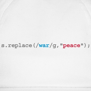 replace war with peace - Baseballcap