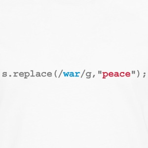 replace war with peace - T-shirt manches longues Premium Homme