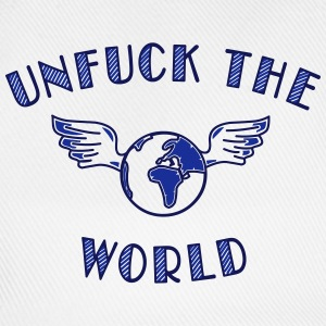 unfuck the world - Baseballkappe