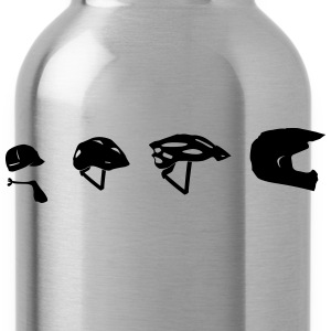 Enduro motorcycle helmet evolution T-Shirts - Water Bottle