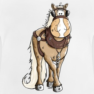 Happy Heavy Horse - Draft Horses Shirts - Baby T-Shirt