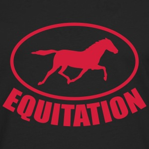 Equitation ! Tee shirts - T-shirt manches longues Premium Homme