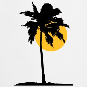 Palm tree on the beach sun sea T-Shirts - Cooking Apron