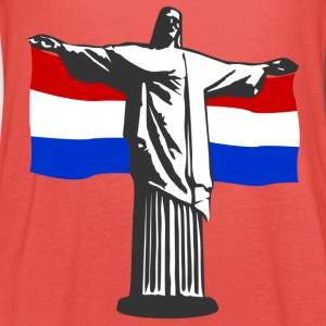 Nederland Holland Jezus in Rio T-shirts - Vrouwen tank top van Bella