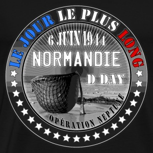 le jour le plus long normandie d day 1944 Sweat-shirts - T-shirt Premium Homme