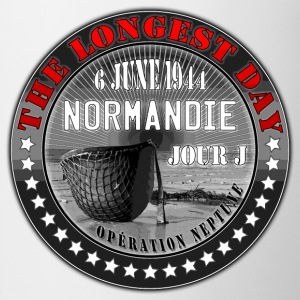 the longest day normandie jour j 1944 Tee shirts - Tasse