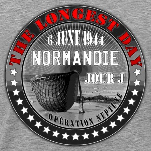 the longest day normandie jour j 1944 Sweat-shirts - T-shirt Premium Homme