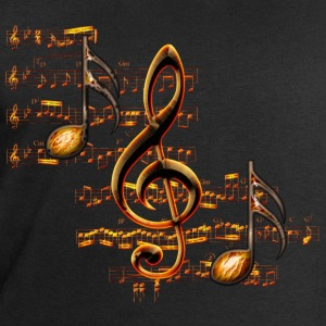 Notes de Musique Scores 2 - Sweat-shirt Homme Stanley & Stella