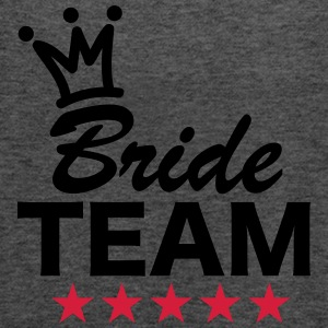 Bride, Team, Wedding, 5 Stars, Crown, Marriage T-S - Frauen Tank Top von Bella