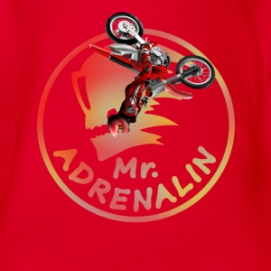 Motocross Mr. Adrenalin Tee shirts - Body bébé bio manches courtes