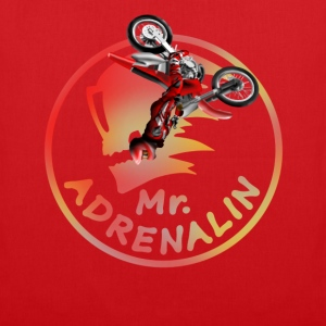 Motocross Mr. Adrenalin T-shirts - Tygväska
