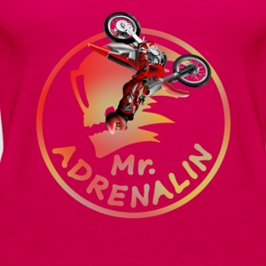 Motocross Mr. Adrenalin Shirts - Vrouwen Premium tank top
