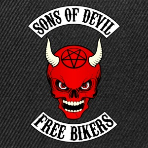 devil bikers Sweat-shirts - Casquette snapback