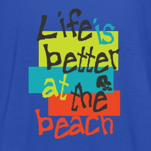 Better Beach blue - Frauen Tank Top von Bella