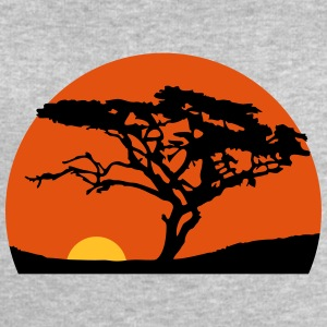 Sundays Africa safari tree savannah wilderness T-Shirts - Men's Sweatshirt by Stanley & Stella