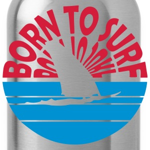Born to Surf T-Shirts - Trinkflasche