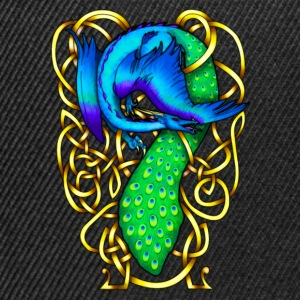 Peacock Dragon Hoodies & Sweatshirts - Snapback Cap