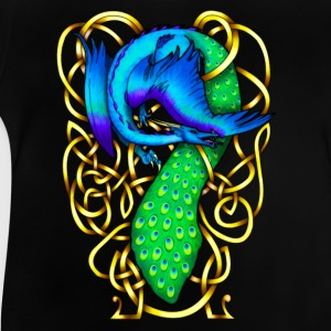 Peacock Dragon Long Sleeve Shirts - Baby T-Shirt
