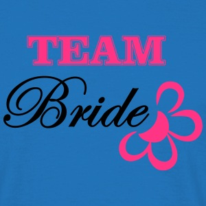 bride TEAM with flower Tops - Men's T-Shirt