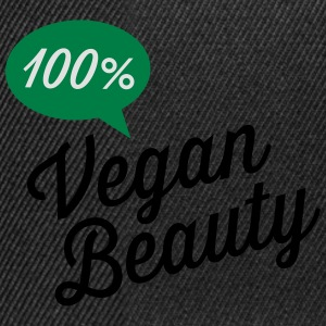100% Vegan Beauty T-skjorter - Snapback-caps