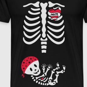 Tattoo Ribcage Mum Tops - Men's Premium T-Shirt