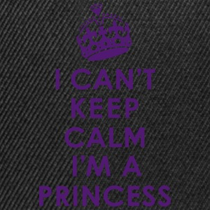 Can't Keep Calm /Princess Shirts - Snapback Cap