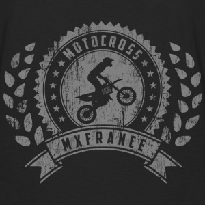 Motocross Retro Champion Sweat-shirts - T-shirt manches longues Premium Homme