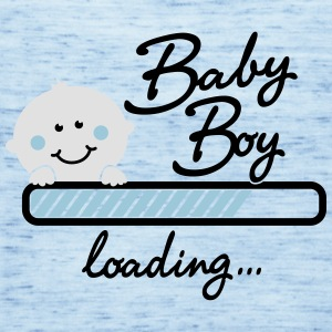 Baby Boy loading... T-Shirts - Frauen Tank Top von Bella