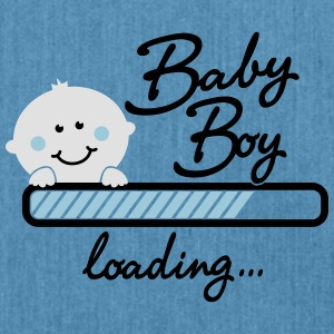 Baby Boy loading... T-Shirts - Schultertasche aus Recycling-Material