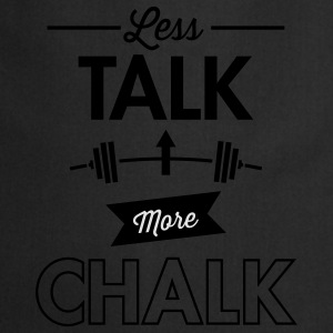 Less Talk More Chalk T-shirts - Keukenschort