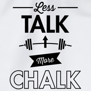 Less Talk More Chalk T-skjorter - Gymbag