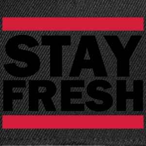 Stay Fresh (Retro) T-shirts - Snapback cap